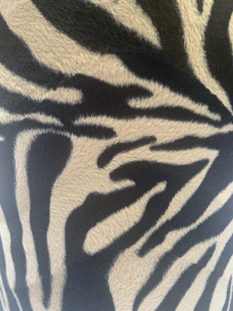 Lampenkap savana zebra taup/black
