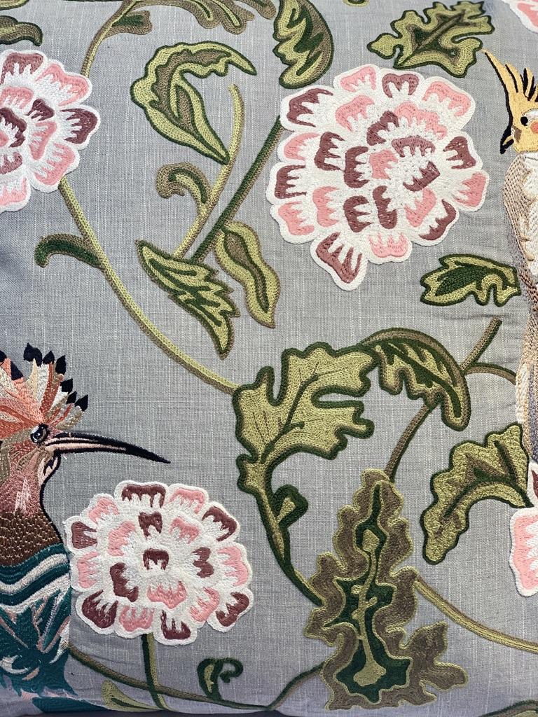 Colmore kussen bloemen en vogels