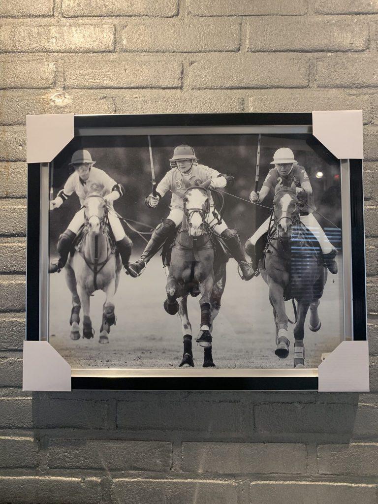 Foto schilderijen polo sport