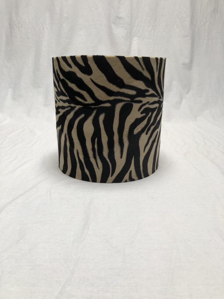Lampenkap met zebra print